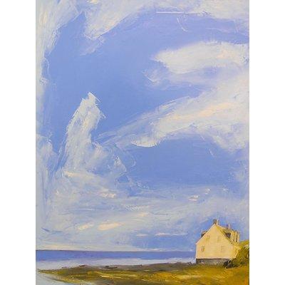 """Janis Sanders Painting """"Clearing Skies"""" 40X30 - Janis Sanders"""