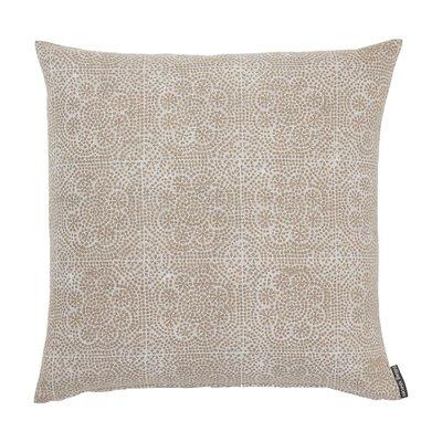 "Slate Wisteria Block Print 22"" Pillow"