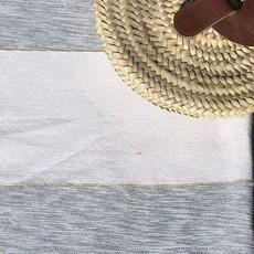 Striped Cotton/Bamboo Throw