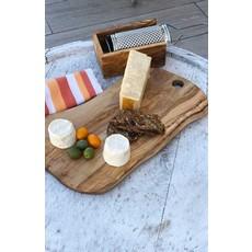 """Slate Olive Wood Cheese Board 14.5"""""""