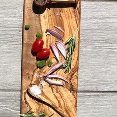 Olive Wood Rectangle Tray