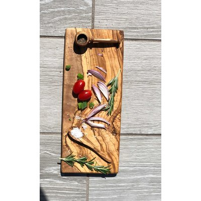 Slate Olive Wood Rectangle Tray