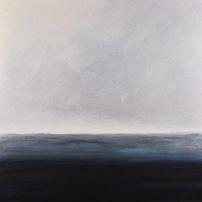 "Teresa McCue ""Silver Edge"" - 30x30"""