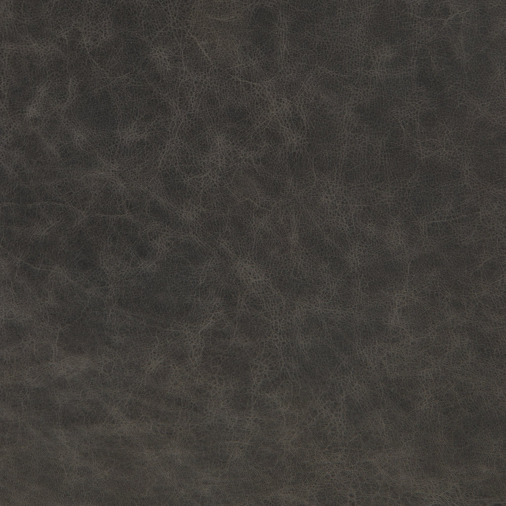 """Slate Tufted 86"""" Leather Sofa"""