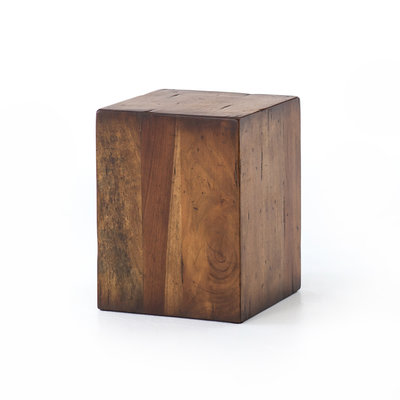 Slate Solid Fruitwood End Table