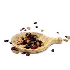 Olive Wood Small Round Tapas Dish