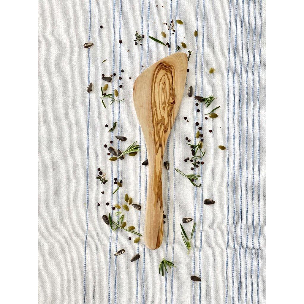 Slate Olive Wood Curved Spatula