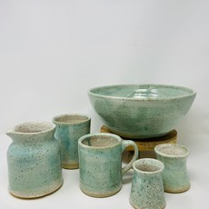 Doghouse Pottery Doghouse Pottery Blue Glaze Mug