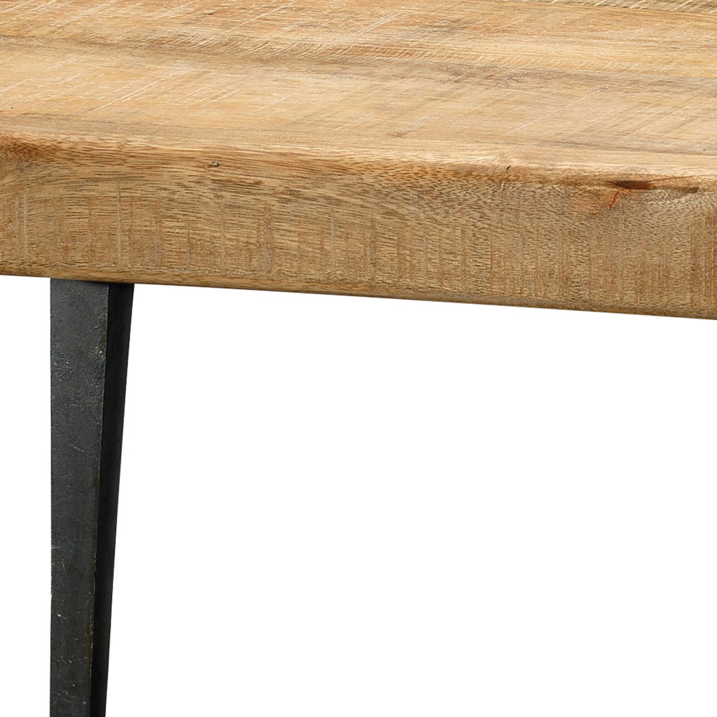 Slate Modern Farmhouse Coffee Table