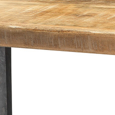 Slate Modern Farmhouse Console Table