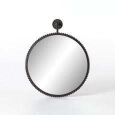 Slate Cast Aluminum Large Mirror