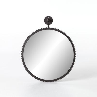 Cast Aluminum Large Mirror