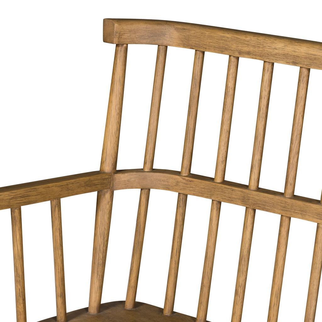 Windsor Oak Entry Bench