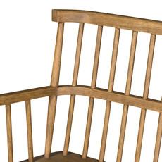 Slate Windsor Oak Entry Bench