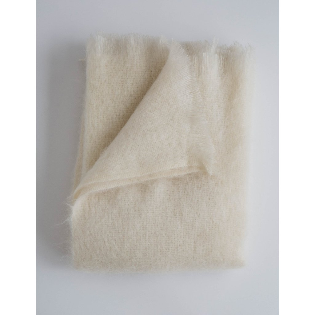 Evangeline Mohair Throw
