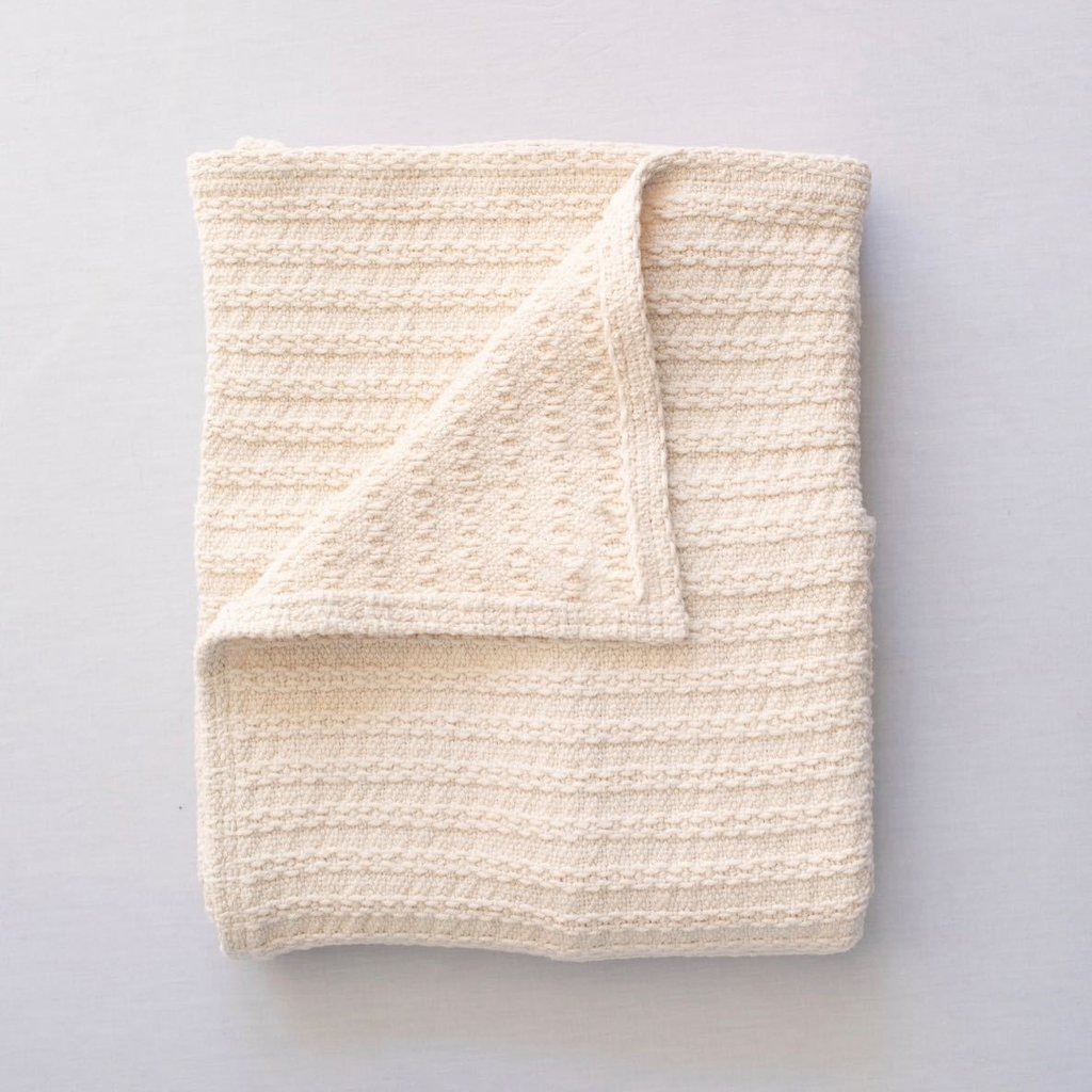 Evangeline 100% Cotton Cable Knit Throw