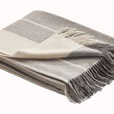 Striped Merino Wool Throw