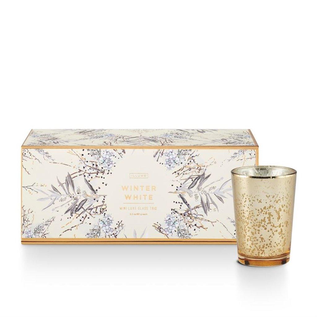 Illume Holiday Candle Trio Gift Set