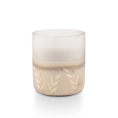 Illume Small Frosted Glass Holiday Candle