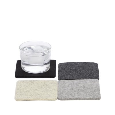 Graf Lantz Square Felt Coasters (Set of 4)