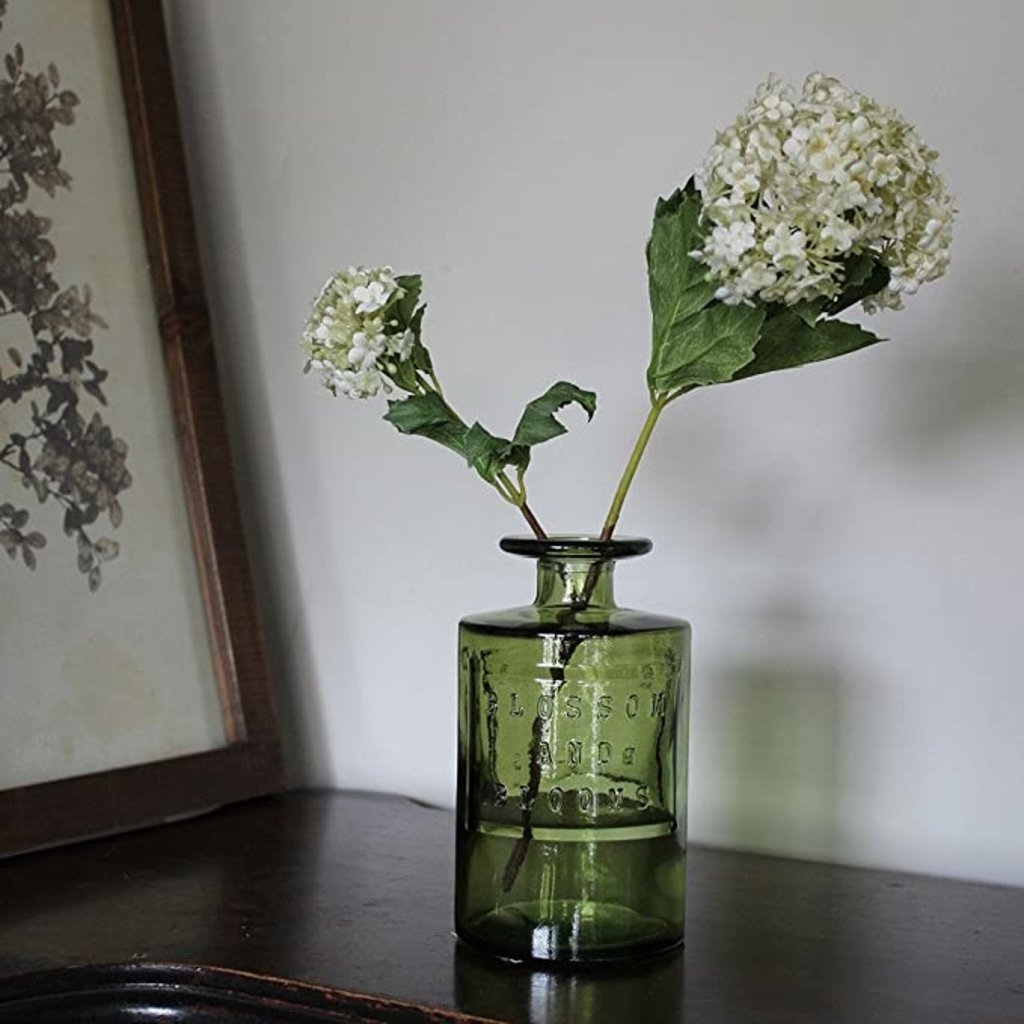 Slate Recycled Glass Vase