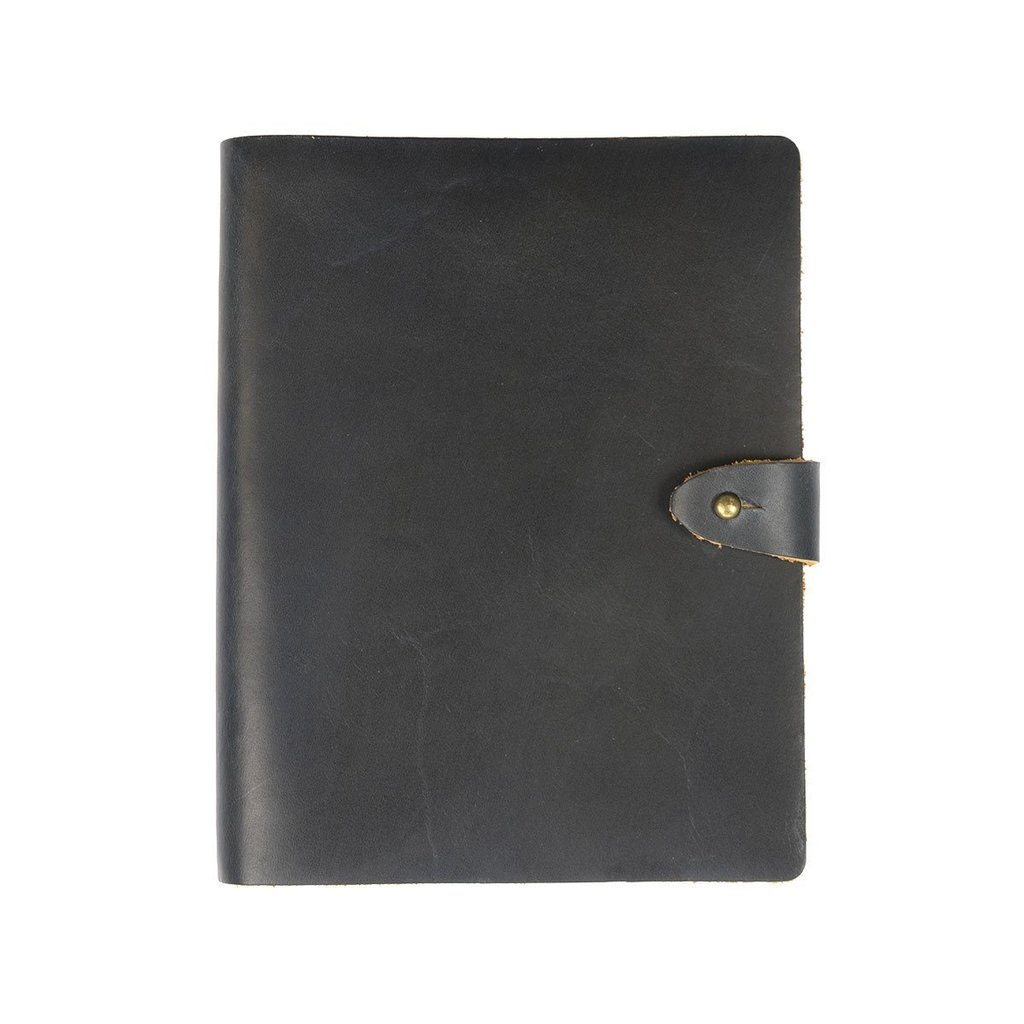 Rustico Venture Lined Leather Notebook