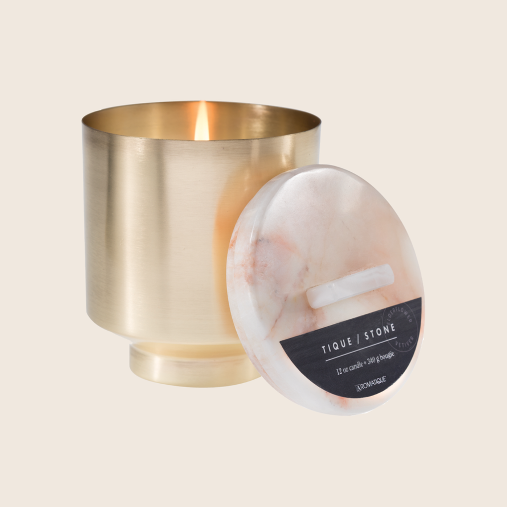 Aromatique Brass Candle