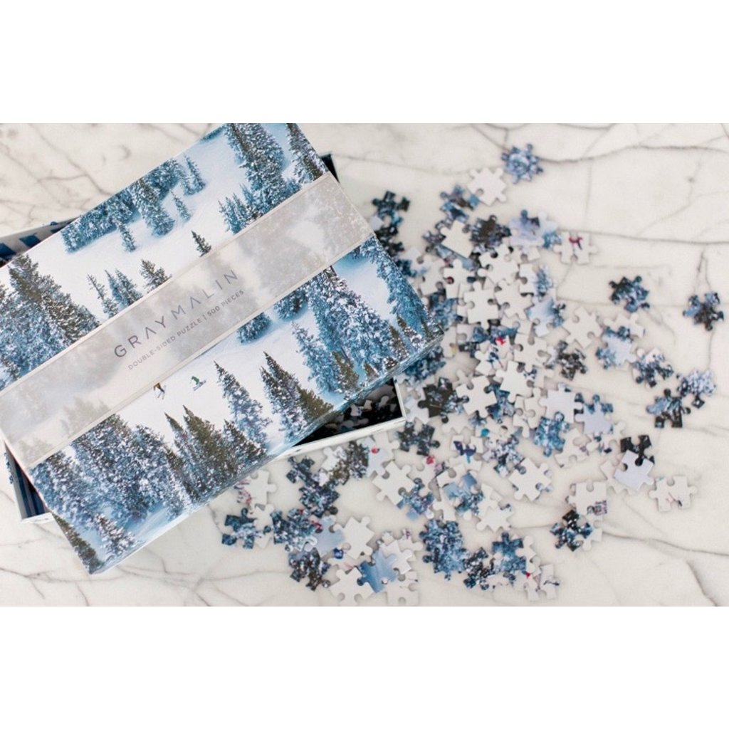 Gray Malin Snow Double-Sided 500 Piece Puzzle