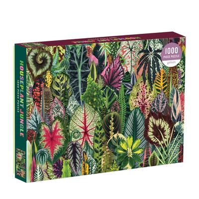 Slate Houseplant Jungle 1000-pc Puzzle