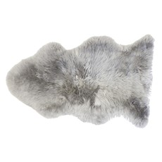Slate Single Sheepskin Rug