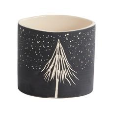 Slate Dark Night Ceramic Pot