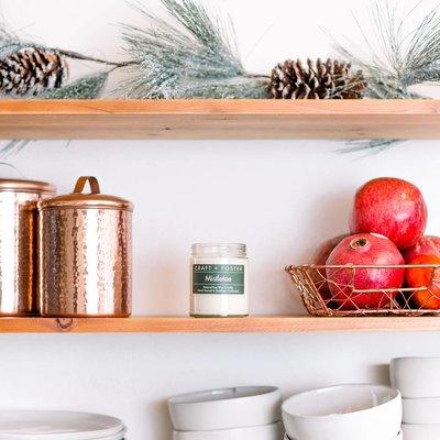 Craft + Foster Mistletoe Candle