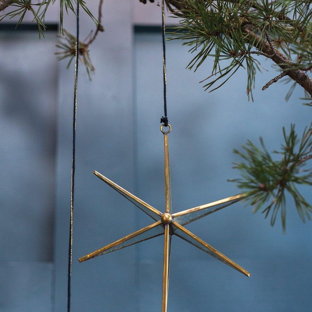 Slate Northern Star Ornament