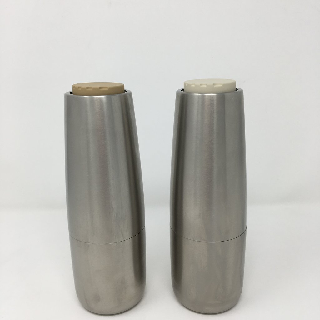 Salt and Pepper Mills (Set of 2) Stainless