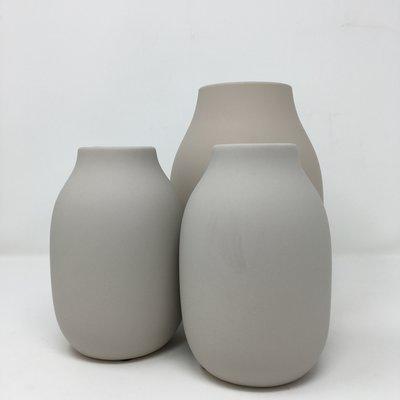 Slate Matte Porcelain Vase