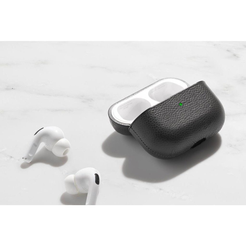 Slate Leather Airpod Case