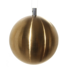 Slate Brushed Stainless Gold Ornament