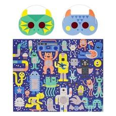 Monster Jam Decoder Puzzle