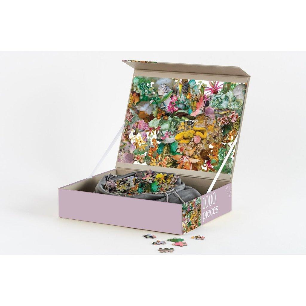 Slate Flora 1000 Piece Puzzle