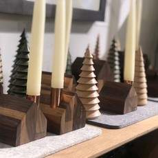 Handmade Walnut Colonial