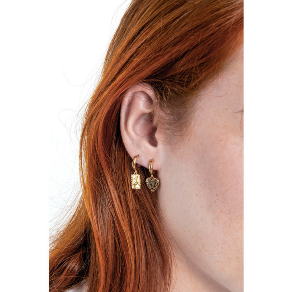 Slate Charm Earrings