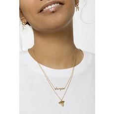 Souvenir Necklace (18k GP)