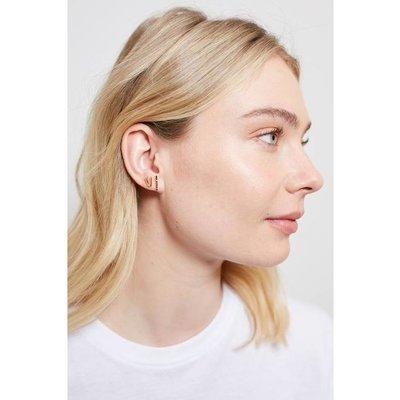 Slate Bliss Earrings (18K GP)
