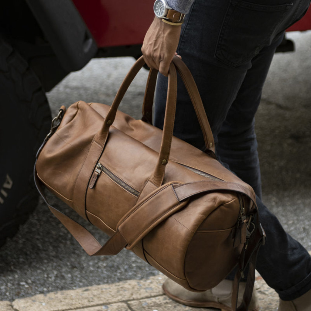 Moore and Giles Reclaimed Oak Duffel