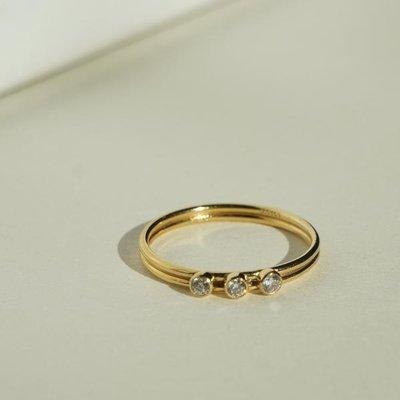 Slate Tres Dia Ring