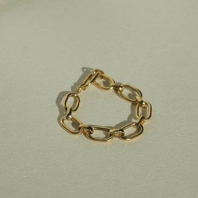 Slate Netta Chain Ring