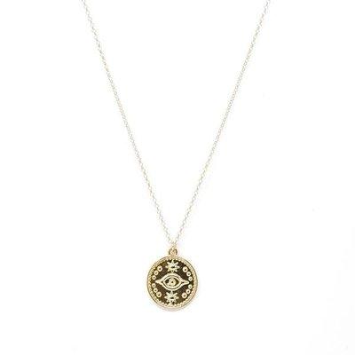Slate Mystic Eye Necklace