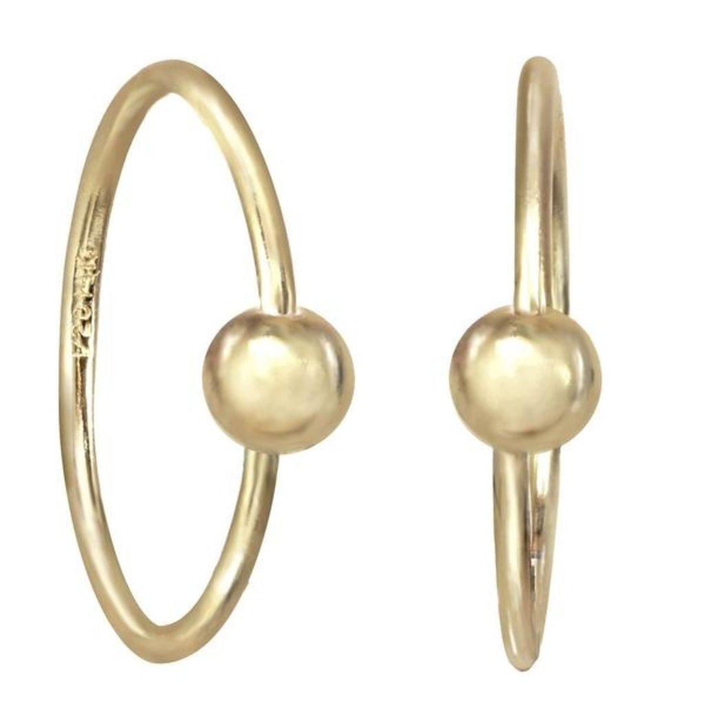 Harlie Hoop Earrings