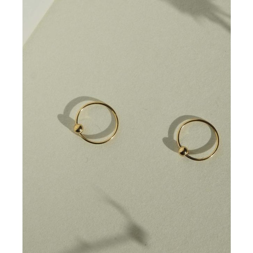 Slate Harlie Hoop Earrings