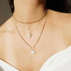 Slate Violet Necklace